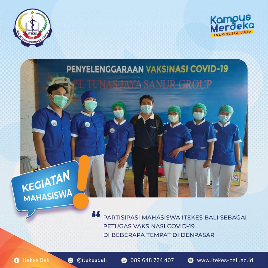 Partisipasi Mahasiswa ITEKES Bali dalam Pencegahan Covid-19