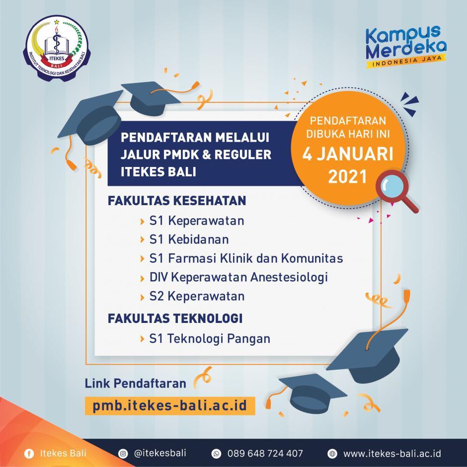 Pendaftaran Mahasiswa Baru 2021/2022